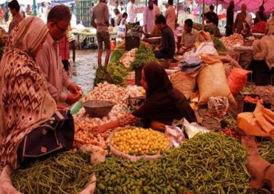 لاہور کےاتوار بازاروں میں سبزی اور پھلوں کی قیمتوں میں کمی