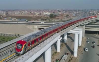 پنجاب حکومت کی اورنج ٹرین 10دسمبرکوچلانےکی تیاریاں