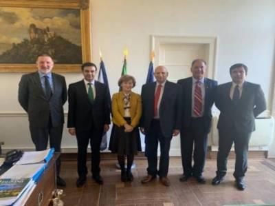 گورنر پنجاب کاپاکستان کے لیے GSP پلس اسٹیسٹس کی تجدید اور مسئلہ کشمیر کے حل کی لابی کے لیے یورپ کا دورہ