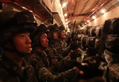 واریئر سیون :مشترکہ فوجی مشقوں کے لئے چین سپیشل فورسز کا دستہ پاکستان کے لئے روانہ