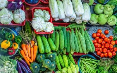 سرکاری نرخنامے میں پرچون سطح پر بیشتر سبزیوں کی قیمتوں میں کمی ،دکانداروں کی من مانیاں جاری