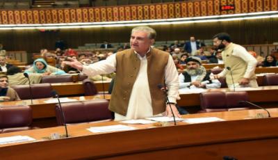 مسئلہ کشمیر کے حل کیلئے پوری قوم متحد ہے: شاہ محمود قریشی