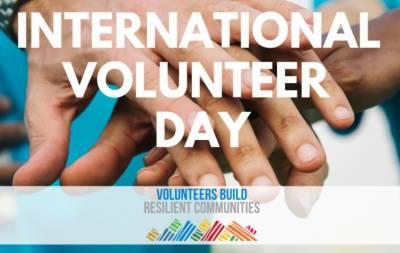رضاکاروں کاعالمی دن آج منایاجارہاہے
