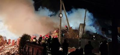 پولینڈ ،گیس دھماکے میں 4 افراد ہلاک، 4 لاپتہ