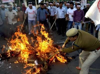 پاکستان،افغانستان اور بنگلہ دیش کے غیر مسلموں کو بھارتی شہریت دینے کا بل منظور,مخالفت جاری