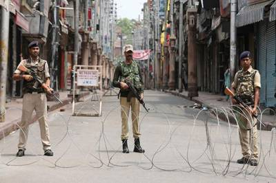 مقبوضہ کشمیر کے سابق وزیراعظم شیخ محمد عبداللہ کی برسی کے اجتماع پر پابندی