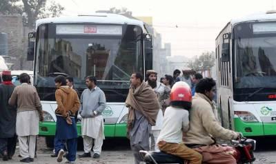 لاہور ٹرانسپورٹ کمپنی کی بسوں کے تمام روٹس بند، شہری شدید پریشان