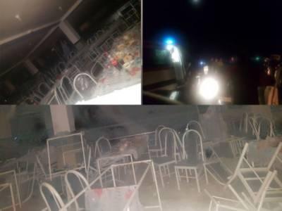ایران، شادی ہال میں گیس دھماکہ،پانچ بچوں سمیت 11 افراد جاں بحق، درجنوں زخمی