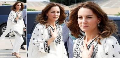 برطانوی شہزادی ایک اور پاکستانی ڈیزائنر کی مشکور