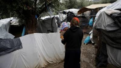 یونانی جزیرے پر مہاجر کیمپ میں نوجوان افغان خاتون جل کر ہلاک