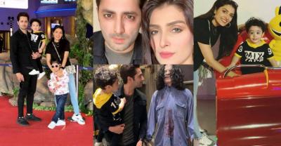 عائزہ خان اپنی فیملی کے ہمراہ چھٹیاں منانے دبئی چلی گئیں