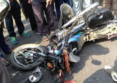 ٹوبہ ٹیک سنگھ ٹریفک حادثے میں ماں بیٹی جاں بحق،1 شخص زخمی