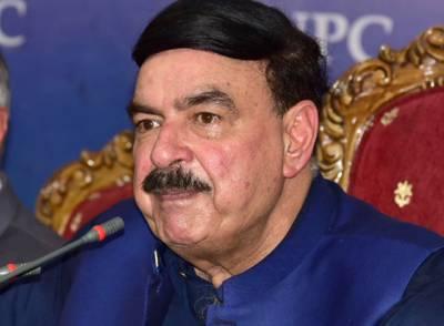 مولانا فضل الرحمان بتائیں استعفی کہاں ہے ؟ الیکشن کمیشن کا مسئلہ جلد حل ہو جائے گا، حکومت بھی اپنے 5 سال پورے کرے گی. شیخ رشید احمد