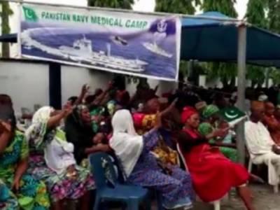 پاک بحریہ کا جذبہ خیرسگالی کے تحت لاوس میں طبی کیمپوں کا اہتمام