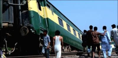 سرگودھا ، ٹرین ڈمپر سے ٹکرا گئی، اسسٹنٹ ڈرائیور جاں بحق، ڈمپرڈرائیور فرار