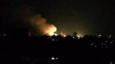 شام میں نامعلوم طیارے کے فضائی حملے میں ایران نواز پانچ جنگجو ہلاک