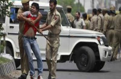 جنت نظیروادی کشمیر میں غیر انسانی کرفیو کا 128واں روز، نام نہاد سرچ آپریشن اور پکڑ دھکڑ