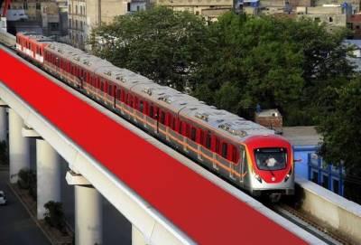 اورنج لائن ٹرین کو بجلی پر چلانے کا فیصلہ