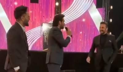 ہمایوں سعید کی عدنان صدیقی کو ایوارڈ تقریب میں تھپڑ مارنے کی ویڈیو وائرل