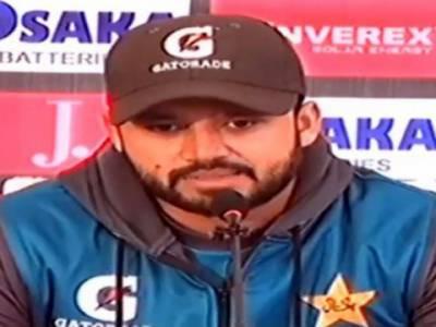 کھلاڑی سری لنکا کےخلاف ٹیسٹ سیریز سے متعلق پرجوش ہیں: اظہر علی