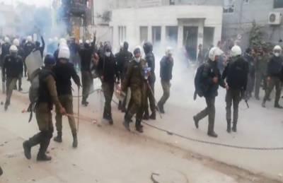 لاہور:پی آئی سی میدان جنگ میں تبدیل