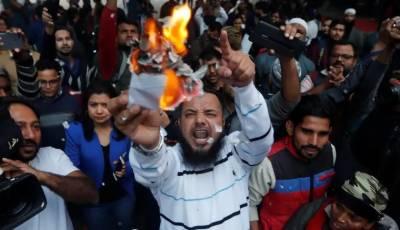 بھارت :متنازعہ بل پر مظاہرے،کاروباری مراکز بند