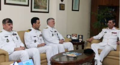 ایرانی بحریہ کے کمانڈر کی کراچی میں مصروفیات
