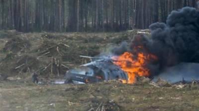 روس فوجی ہیلی کاپٹر حادثے میں 2 پائلٹ ہلاک