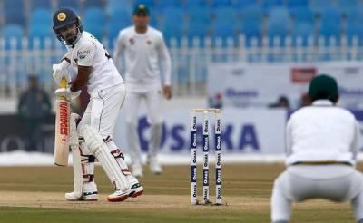 راولپنڈی ٹیسٹ:سری لنکااپنی پہلی اننگزکاکھیل آج پھرشروع کریگا