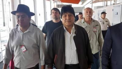 بولیویا کے سابق صدر ایوو مورالیز سیاسی پناہ کے لیے ارجنٹائن پہنچ گئے