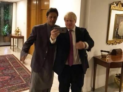 وزیراعظم عمران خان کی بورس جانسن کو برطانوی انتخابات میں کامیابی پرمبارکباد