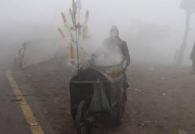 پنجاب میں صبح سویرے دھند کا راج