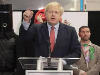 بورس جانسن کی فتح کے بعد لندن میں پولیس کے ساتھ جھڑپیں