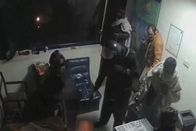 اسلام آباد:سہالہ میں ڈاکو پیڑول پمپ سے نقدی چھین کر فرار