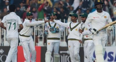 راولپنڈی ٹیسٹ:سری لنکا کی پہلی اننگزڈکلیئر،پاکستان کی بیٹنگ جاری