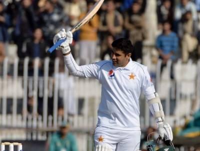 راولپنڈی ٹیسٹ کا پانچواں دن:پہلے ٹیسٹ میچ میں عابد علی کی سنچری