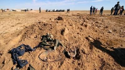 عراق، اجتماعی قبر سے 643 شہریوں کی باقیات برآمد