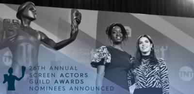 امریکی 26 ویں سکرین ایکٹرز گِلڈ ایوارڈز کی نامزدگیوں کی فہرست جاری