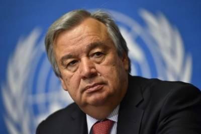 دنیا نے موسمیاتی بحران سے نمٹنے کا اہم موقع گنوادیا، سیکرٹری جنرل اقوام متحدہ