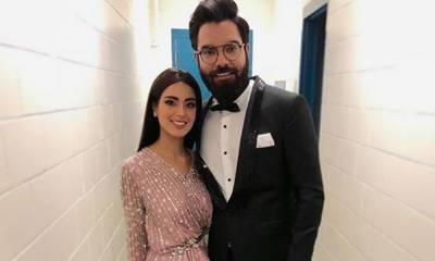 اقرا عزیز اور یاسر حسین کی شادی کیلئے ڈانس پریکٹس
