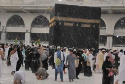 بارش کے لیے خادم الحرمین الشریفین کی ملک بھرمیں نماز استسقاءکی ہدایت