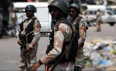 کراچی:رینجرز کی کارروائیاں, 19 ملزمان گرفتار