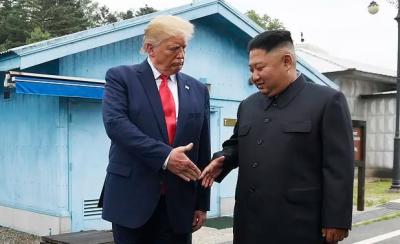 ٹرمپ نے کم جونگ کو سالگرہ کی مبارکباد دی تاہم مذاکراتی میز پر واپس نہیں آئیں ، شمالی کوریا