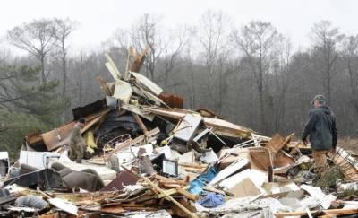 امریکہ:شدید طوفان کے نتیجے میں 8افراد ہلاک