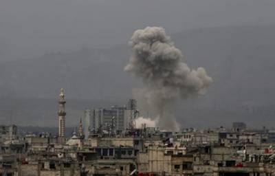 شام:سرکاری فوج کے فضائی حملوں میں 17 افراد ہلاک