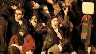 پاسداران انقلاب ایران کے داعشی ہیں, تہران میں عوام کی نعرے بازی