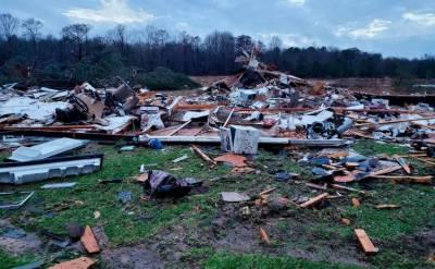 امریکا کو بدترین طوفان کا سامنا, 11 افراد ہلاک