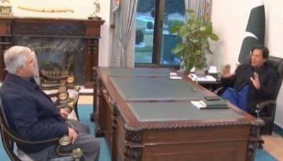 وزیر اعظم عمران خان سے وزیر اعلی خیبر پختونخوا محمود خان کی ملاقات, صوبے میں تعمیرو ترقی اور سیاسی صورتحال پر گفتگو