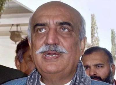 خورشید شاہ کے خلاف تحقیقات کیلئے نیب راولپنڈی کی احتساب عدالت میں درخواست