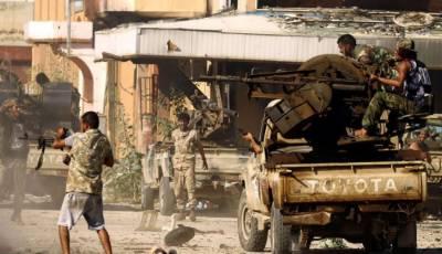 لیبیا:اقوام متحدہ کی حمایت یافتہ سرکاری فوج کے 14 جنگجو ہلاک